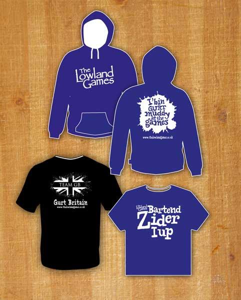 Lowland games merchandise